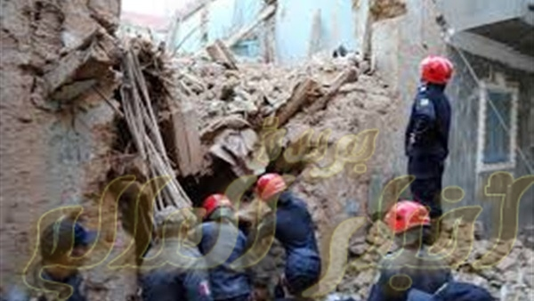 مصرع 3 اشخاص من اسرة واحدة فى انهيار منزلهم فى العسيرات سوهاج