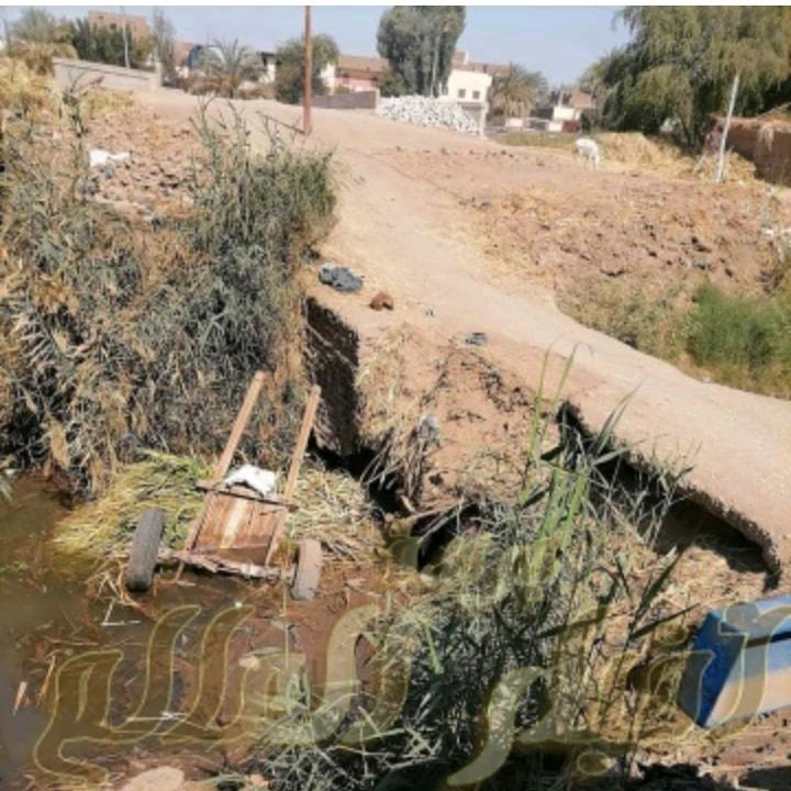 كوبري الكساسبه بارمنت خطر يداهم المواطنين وهيئة الصرف تستهين باستغاثاتهم .
