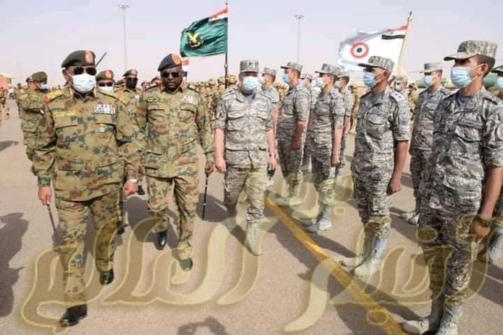 أنشطة مكثفة لفعاليات التدريب الجوى المشترك المصرى السودانى (نسور النيل - 2) ...