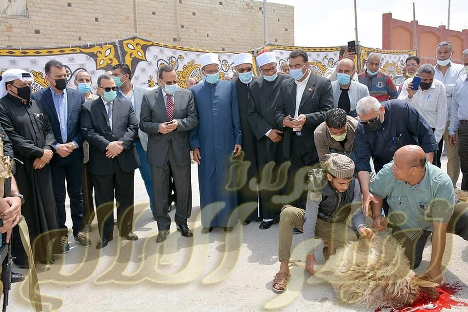 رئيس قطاع المعاهد الأزهرية ومحافظ شمال سيناء يفتتحان ديوان عام منطقة شمال سيناء الأزهرية