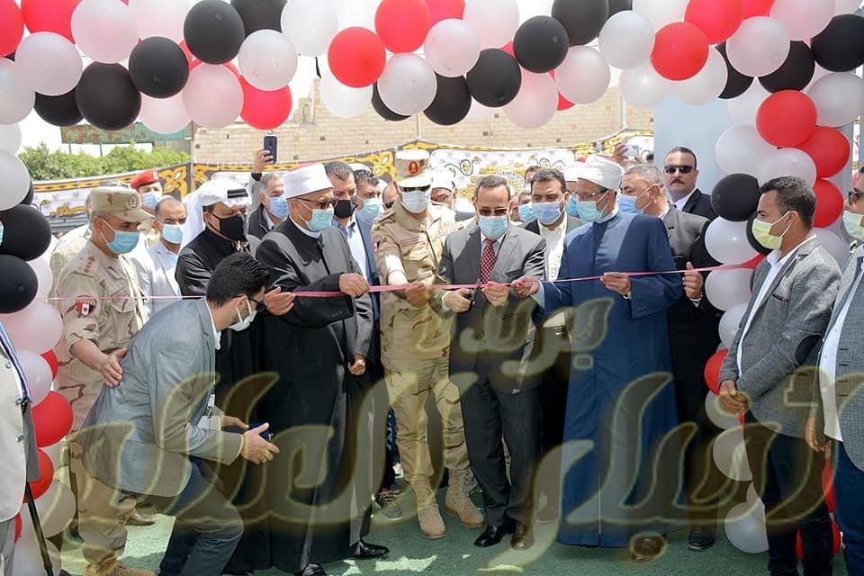 رئيس قطاع المعاهد الأزهرية ومحافظ شمال سيناء يفتتحان ديوان عام منطقة شمال سيناء الأزهرية.