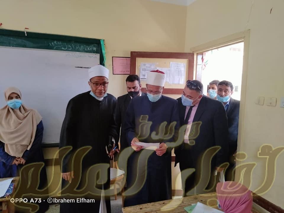 انطلاق امتحانات شهر إبريل ورئيس قطاع المعاهد الأزهرية يتابع معاهد شمال سيناء