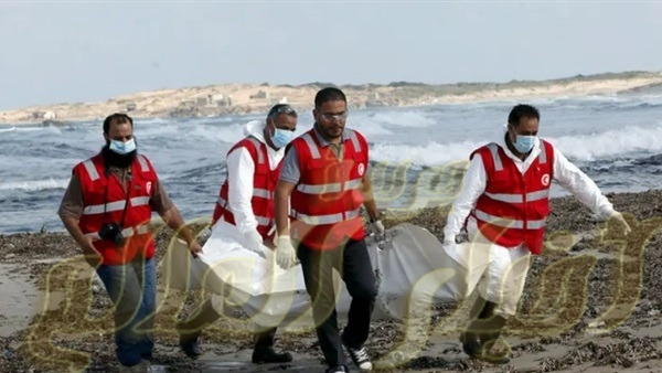 مصرع 50 شخص بينهم مصريين فى غرق مركب هجرة غير شرعىة امام سواحل ليبيا