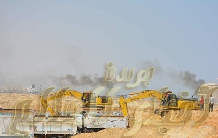 بيان صادر عن وزارة النقل في إطار توجيهات القيادة السياسية باستكمال أعمال إنشاء وتطوير ميناء السخن