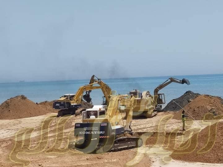 بيان صادر عن وزارة النقل في إطار توجيهات القيادة السياسية باستكمال أعمال إنشاء وتطوير ميناء السخنة.