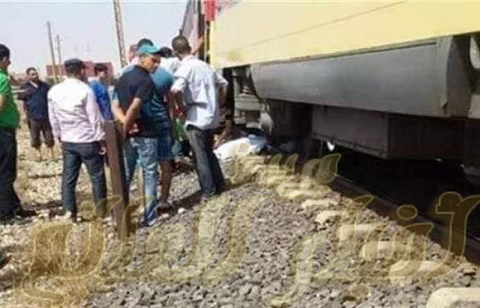 كسر ذراع شاب سقط من القطار بمحطة نجع حمادي شمالي قنا