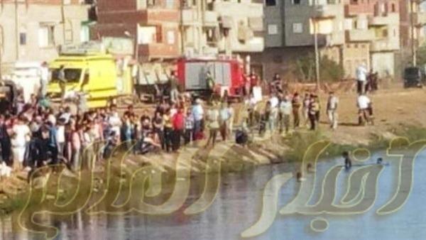 غرق طالب فى ترعة نجع الدير باولاد حمزه سوهاج