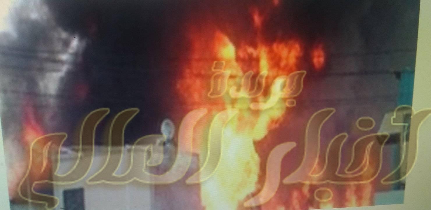 مصرع ثلاثة اطفالة واصابة والدتهم فى حريق منزلهم بالحوامدية بالجيزة