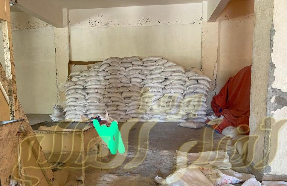 ضبط حوالي174 طن 685كجم أرز منتهى الصلاحية وبه سوس وحشرات فى طما سوها